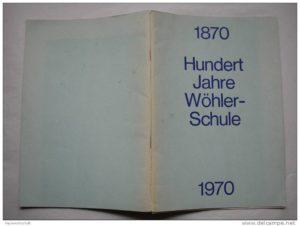 100 Jahre Wöhlerschule
